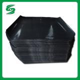 El tipo más reciente de resistir la humedad de hoja de deslizamiento de plástico negro para el transporte del envío