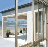 Алюминиевое сползая окно при заполненный аргон