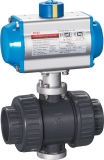 Butterfly pneumatico Valve con Actuator (HAT-240D)