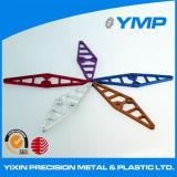 Están ajustadas de alta precisión de fabricación de metal de aluminio proveedor Shenzhen