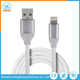 이동 전화를 위한 5V/2.1A USB 데이터 번개 충전기 케이블
