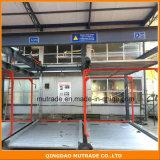 Automatique bi-directionnel hydraulique stationnement de valet extérieur avec 2-15 niveaux