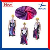 Robe sexy de Netball de pleine fille faite sur commande de sublimation de vêtements de sport de Healong