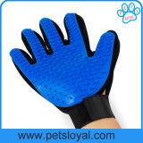 Guante verdadero de la preparación del animal doméstico del dedo del tacto cinco de la venta caliente de la fábrica