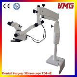El equipo dental suministra el microscopio portable del funcionamiento