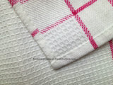 Customized Checked Checkweave Woven Placemat Assorted Color Tea Toalha Mesa Mat
