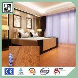 Plancher en bois en plastique de cliquetis de PVC de plancher de planche