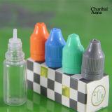 E Liquide flacon compte-gouttes Pet avec bouchon inviolable sécurité enfant (CB-CT-5/10/20/30ml)