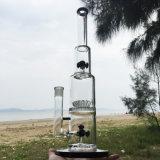 Dunkler Zwilling stellen sich Huka-rauchende Wasser-Glasrohre vor (ES-GB-292)