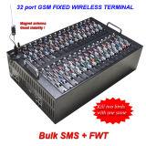 32 128 Port Sims passerelle VoIP+Bulk SMS Gateway (128 sims)