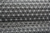 PP Geomalla triaxial hexagonal del triángulo
