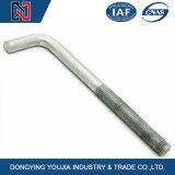 Bullone d'ancoraggio Zinc-Plated ad alta resistenza del fondamento del fornitore M8-M56 HDG della Cina del grado 8.8