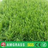 40m m hierba sintética mezclada de cuatro colores para ajardinar (AMT323-40D)