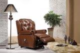 Cadeira Sofá-Elétrica de Couro do Recliner (582)