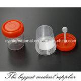 Schemel-Behälter mit Löffel