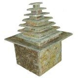 Камень поверхность стола фонтан с 1.2W светодиодный индикатор пальцев