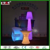 LLDPE PE LED 정원 점화 호텔 가구 바 의자
