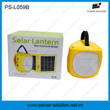 Solar poco costoso Lantern con 10 in-1 il USB Charger & il CA Adapter