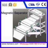 Separador magnético seco para minérios, areia do rolo da intensidade elevada de quartzo