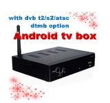 1080p HD MPEG4 Android DVB-S2 T2 Combo STB Ibox de Cloud Computing
