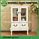 Деревянная живущий мебель шкафа комнаты (W-CB-419)