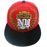 Gorra de béisbol de calidad superior del Snapback con All Over el bordado (GJFP17135)