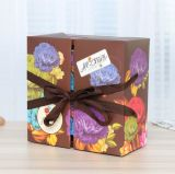 Fabrik-hochwertiges Großhandelspapier stellte Mooncake Kasten, Hotel Mooncake Geschenk-Kasten her