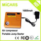 dispositivo d'avviamento di salto della batteria di litio 12V mini con il compressore d'aria