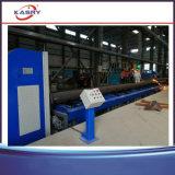 CNC van het Type van Bank van de rol de Pijp die van het Plasma van de Vlam Machine Beveling snijden