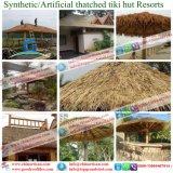 Het kunstmatige Met stro bedekte Huis van de Hut van Tiki van de Staaf van Tiki van het Dak Synthetische Met stro bedekte Plattelandshuisje Met stro bedekte