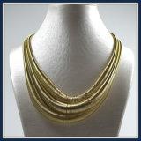 De nieuwe Juwelen van de Halsband van de Manier van de Ketting van de Draad van het Punt Gouden