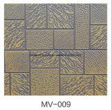 Comitato di parete esterna decorativo dell'isolamento del metallo della gomma piuma dell'unità di elaborazione
