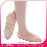 D004703 Split прямой единственной детей и взрослых мягкой кожи Dance балет обувь Ballerina квартир