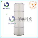 Coletor de pó de pregas Filterk cartuchos do filtro reutilizáveis