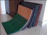 Feuille de caoutchouc à cheval, tapis en caoutchouc, tapis en caoutchouc orange