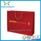 Vente en gros de empaquetage de papier bon marché promotionnelle faite sur commande de sac