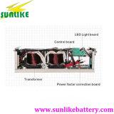 떨어져 격자 전력 공급 사인 파동 태양 에너지 변환장치 6000W/6kw