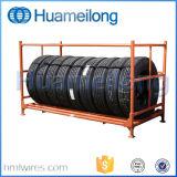 Crémaillère en acier de pneu de palette de mémoire d'entrepôt