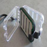 Tampa transparente lateral duplo impermeável voar Caixa com espuma de plástico