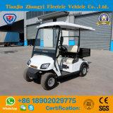 Carro de golfe elétrico de 2 assentos do clássico chinês com caixa