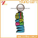 O logotipo personalizado chaveiro em PVC maleável (YB-LY-K-10)