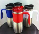 Hot Sale Stainless Steel Auto Mug Travel Mugs Viagem Garrafa Dn-006