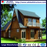 모듈 빛은 구조 조립식 별장 집을 눈을 감는다