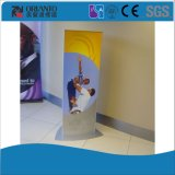Alumínio Triângulo Moldura Curvo Publicidade Pylon Signage