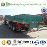Fabrikant 3 van China de Semi Aanhangwagen van de Zijgevel van de Carrier van de Lading van Assen