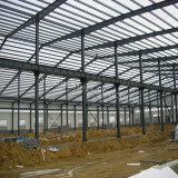 Structure métallique préfabriquée de norme de l'OIN pour l'atelier