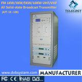 FM 1 kw/3kw/5kw/10kw tous les SSD Émetteur de radiodiffusion (AFT-1K~10K)