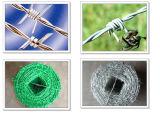 良質のエレクトロによって電流を通される有刺鉄線