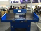 Cortador de papel hidráulico cheio de controle de programa de Guowei (67F)