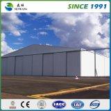 Casa de frame de aço clara Prefab galvanizada Q345 China